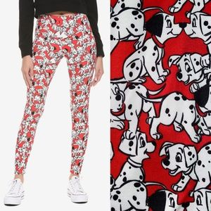 NWT Disney 101 Dalmatians Leggings XS